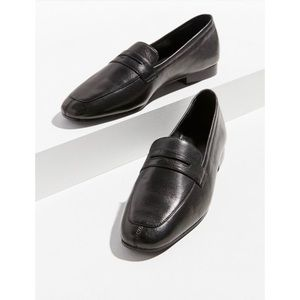 Urban Outfitters UO black leather loafer